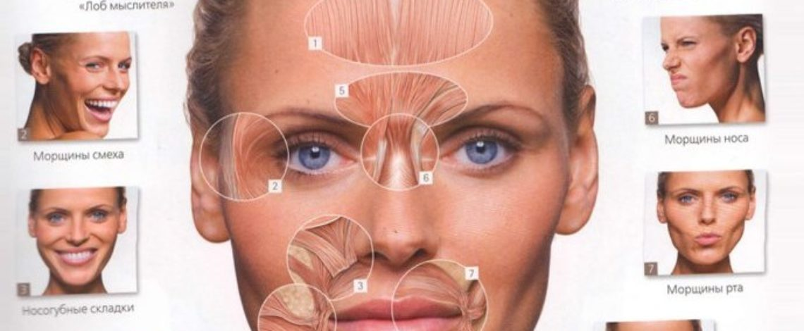 Применение Ботулотоксина типа А в эстетической косметологии